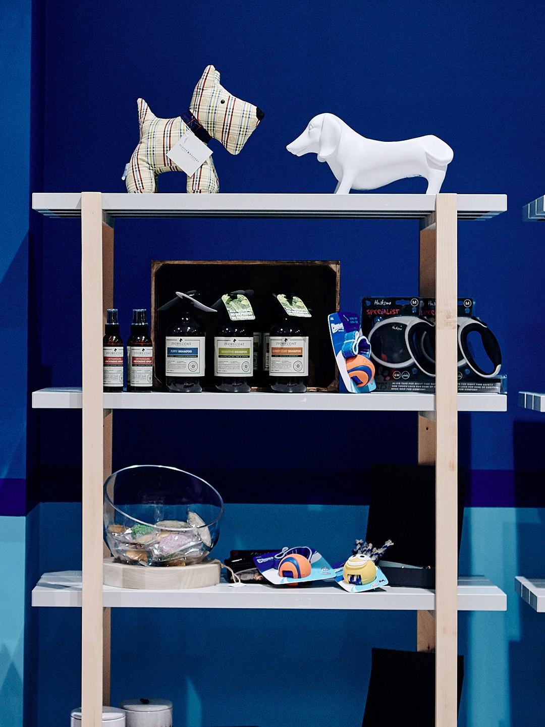 Pet product display
